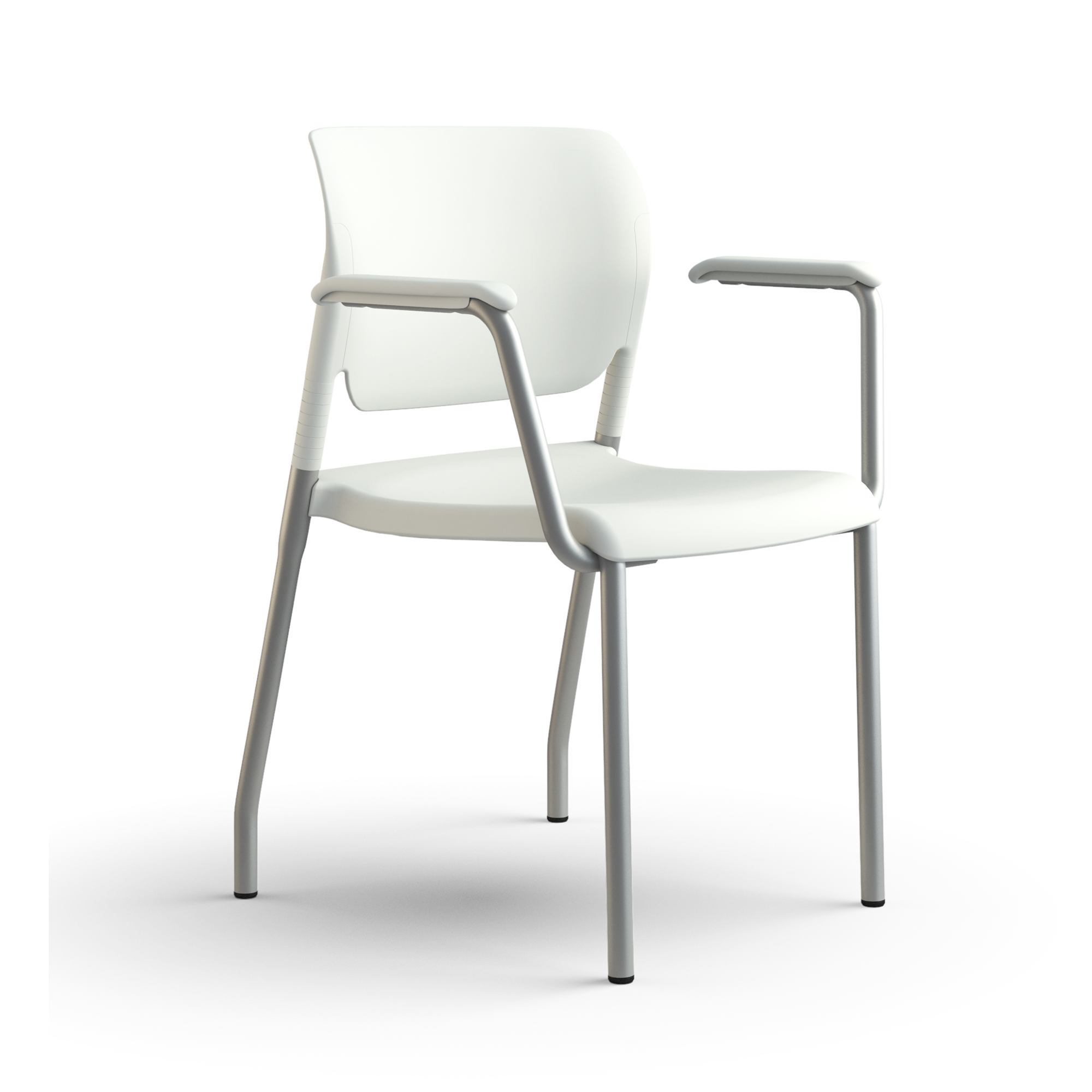 inflex multipurpose chair frost 3qfront gallery-2